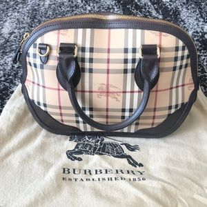 Burberry Haymarket Small Orchard Bowling